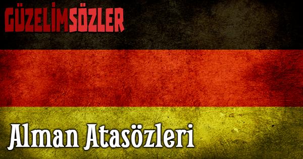 Alman Atasözleri