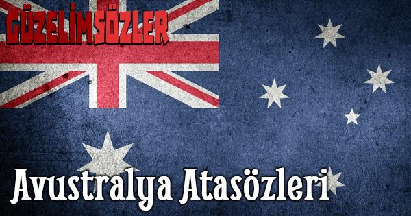Avustralya Atasözleri