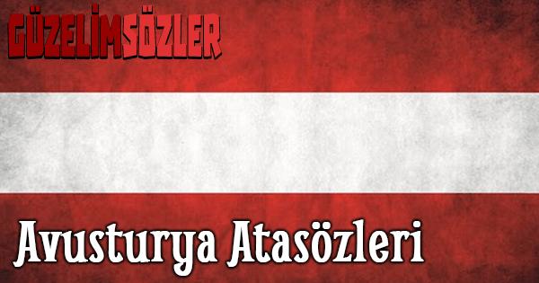 Avusturya Atasözleri