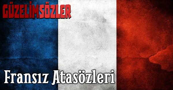 Fransız Atasözleri