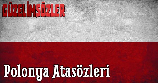Polonya Atasözleri