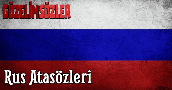 Rus Atasözleri