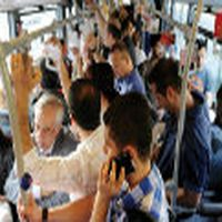 Otobüs o kadar kalabalı...