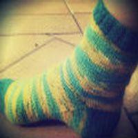 Giydiğim bir çorabı ...