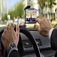 Arabada navigasyon açıy...