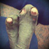 Çorabın başparmak k�...