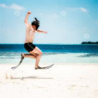 Kız belediye plajına, i...